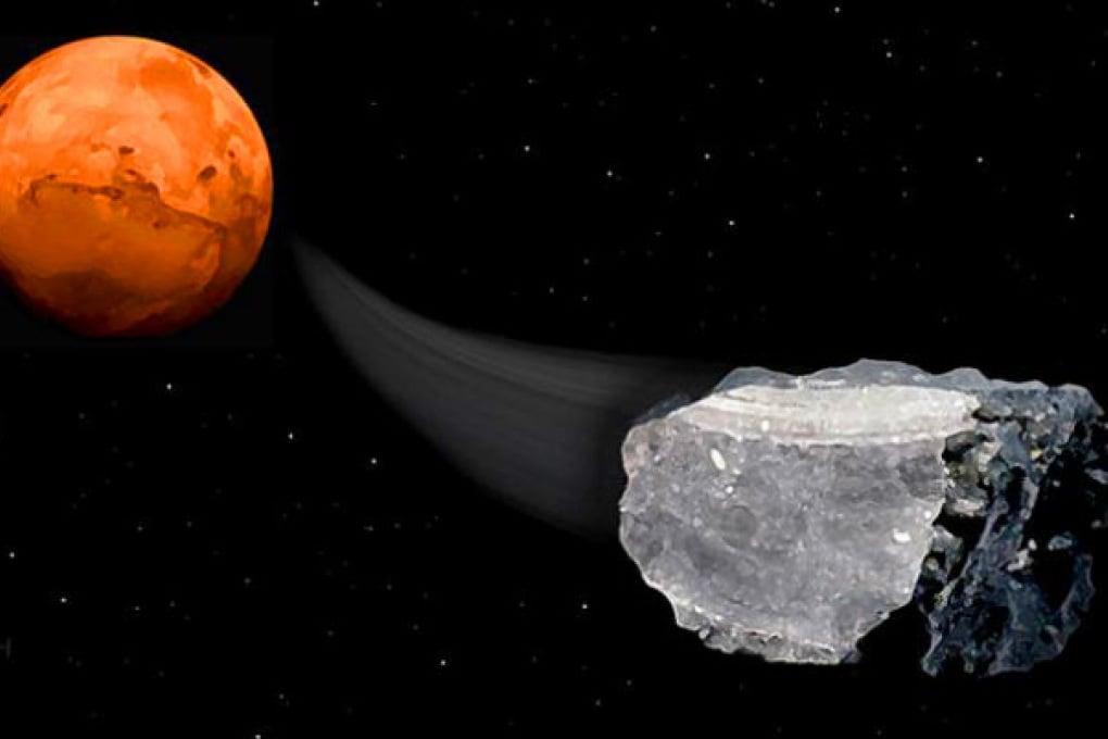 Indizi di vita su Marte: il metano dei meteoriti