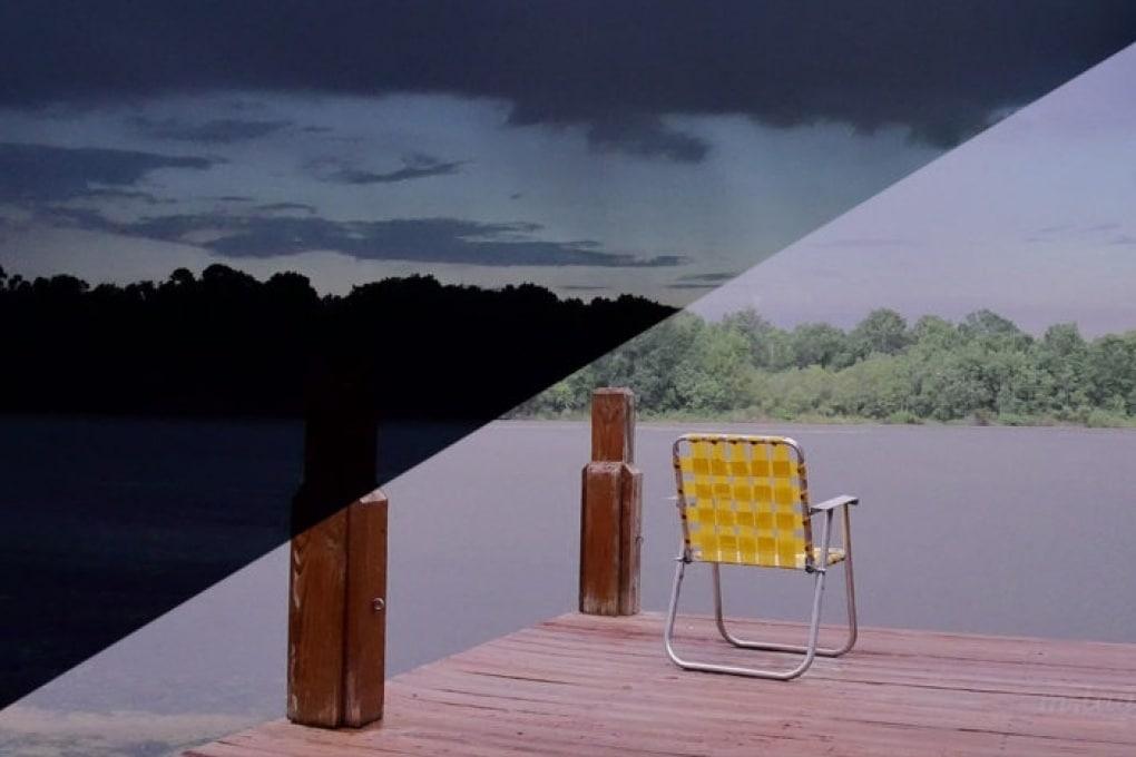 Ecco quanta luce può fare un lampo
