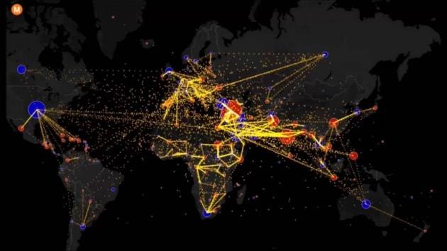 La mappa interattiva delle migrazioni mondiali