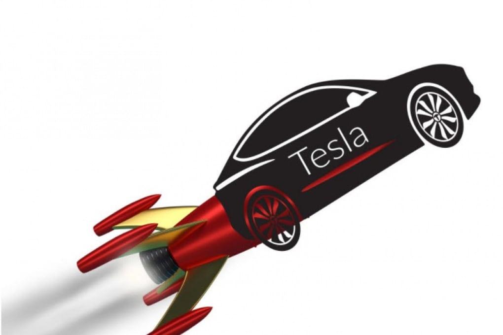 SpaceX lancia un'auto nello Spazio, alla lettera