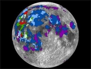 Luna, Terra, Sistema Solare, formazione della Luna, atmosfera della Luna