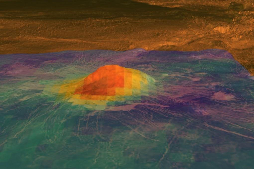 Su Venere vulcani ancora attivi