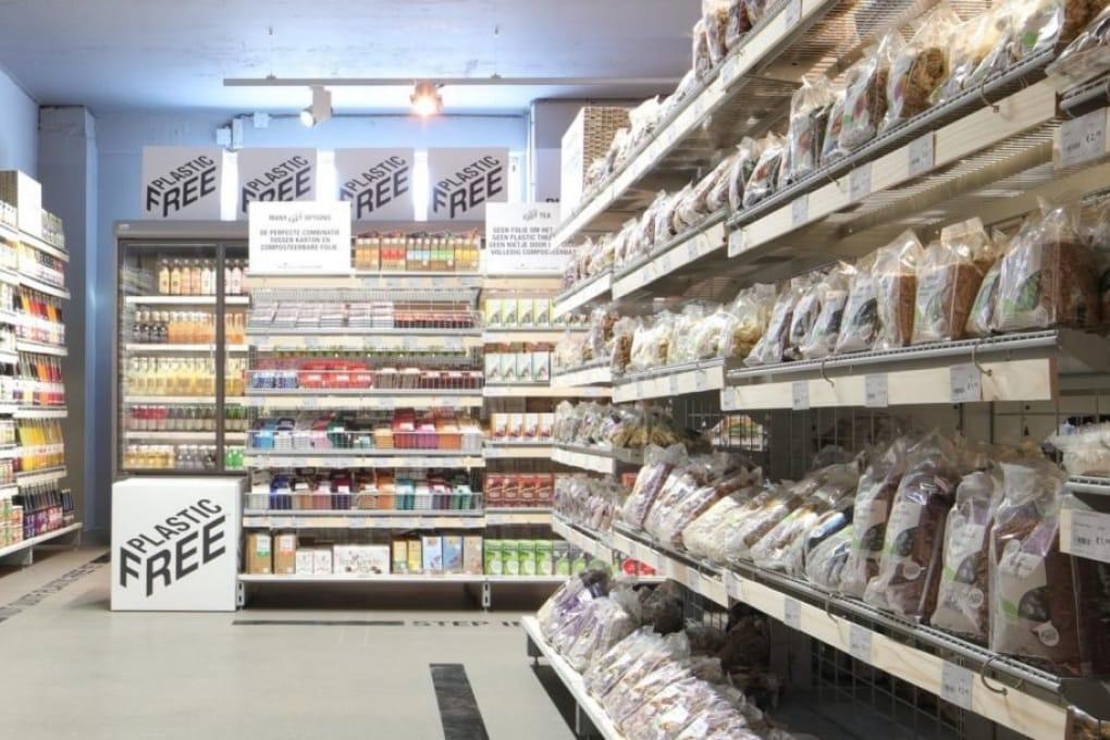 Un supermercato senza plastica: ve lo immaginate?