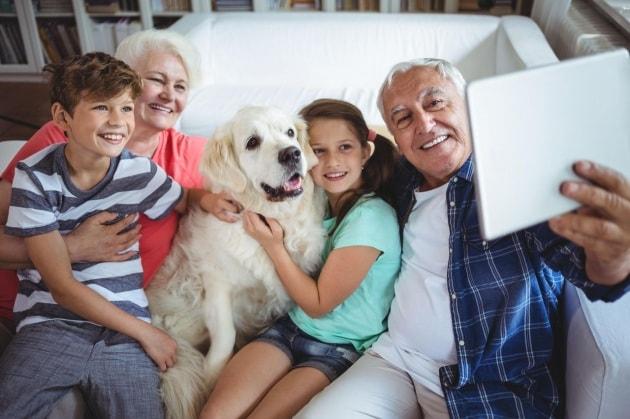 I nonni babysitter vivono di più