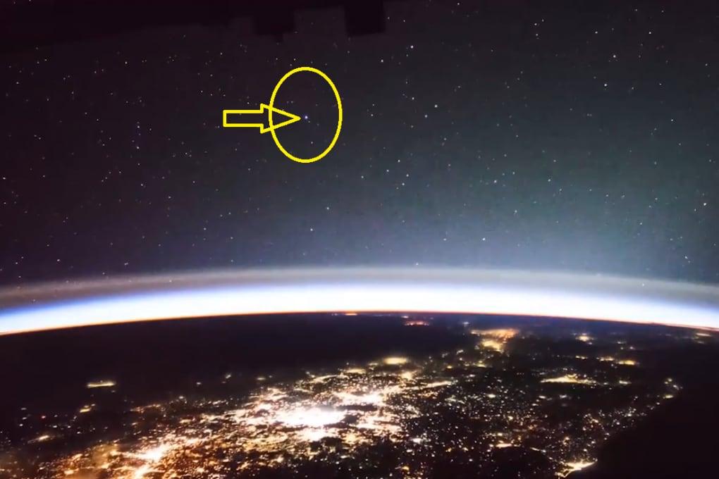 Luci misteriose fotografate dalla Stazione Spaziale Internazionale