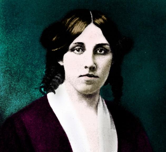 Louisa May Alcott, la