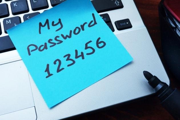 Password vecchie, troppo facili, già violate... in molti le usano