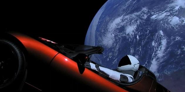 Il viaggio spaziale della Tesla a domande e risposte