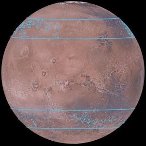 Marte, Pianeta Rosso, acqua su Marte, Mars Express, ricerca della vita, Mars Reconnaissance Orbiter