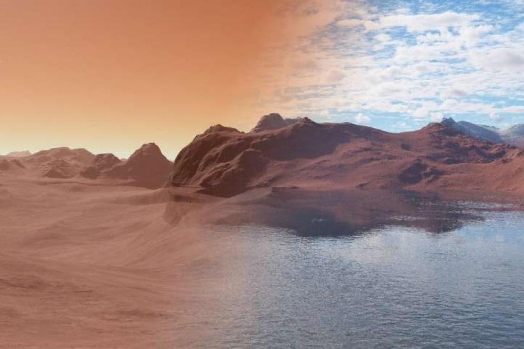 Marte come una enorme spugna: ha assorbito tutta la sua acqua