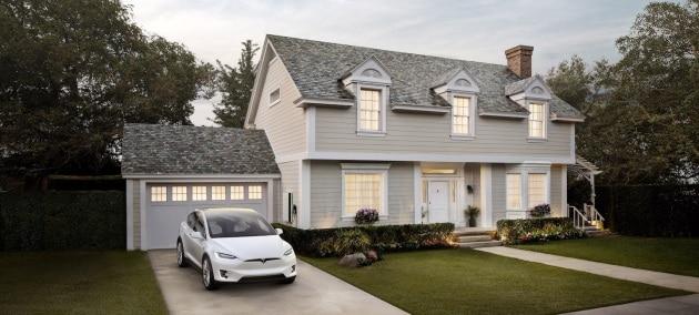 Il tetto solare di Tesla ha garanzia infinita