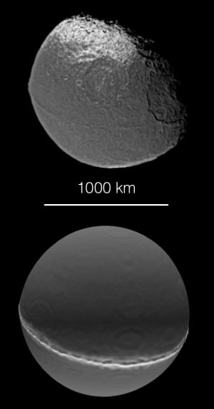Atlas, Pan, Giapeto, Sistema Solare, satelliti di Saturno, Nasa, Esa, sonda Cassini, Cassini