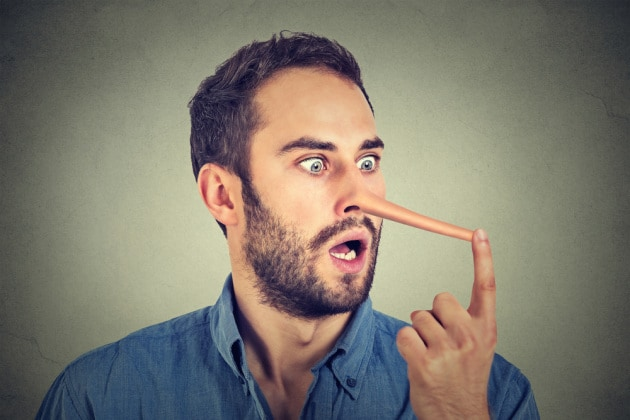 5 modi per riconoscere un bugiardo
