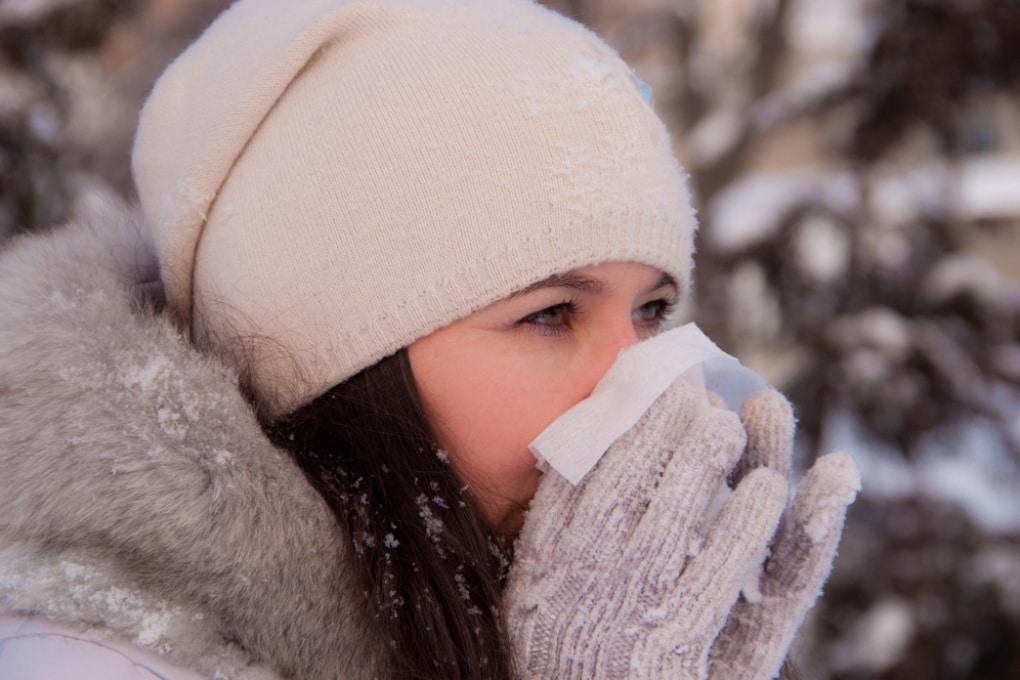 Perché quando fa freddo ci cola il naso?