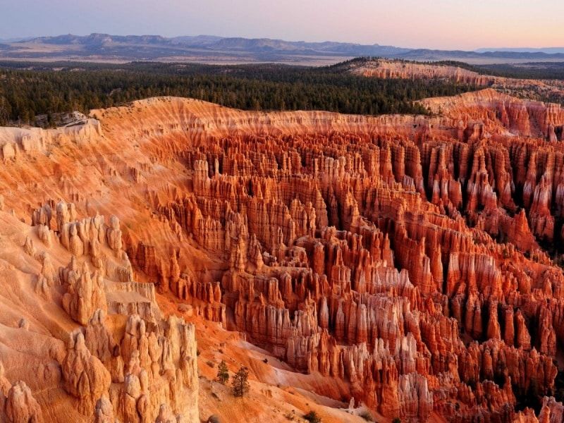 located-in-utah-bryce-canyon-national-park-is-home-to-brightly-colored-geological-structures-which-are-formed-from-erosion-and-called-hoodoos-the-park-hosts-the-largest-collection-of-hoodoos-in-the-world