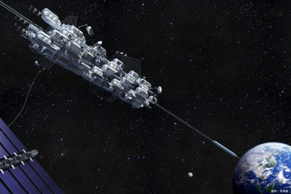 Il Giappone sta per testare un prototipo di ascensore spaziale