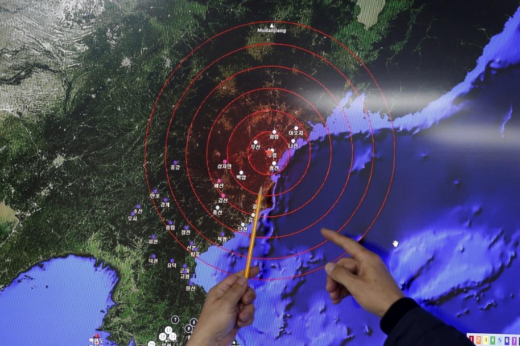 Corea del Nord: gli effetti di un test nucleare su una montagna