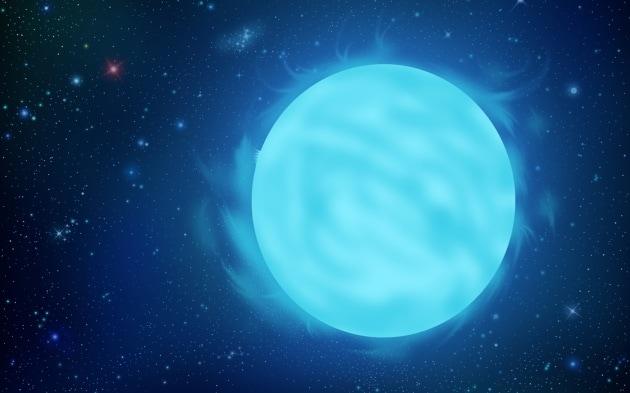 R136a1 è considerata la stella più massiccia mai scoperta finora