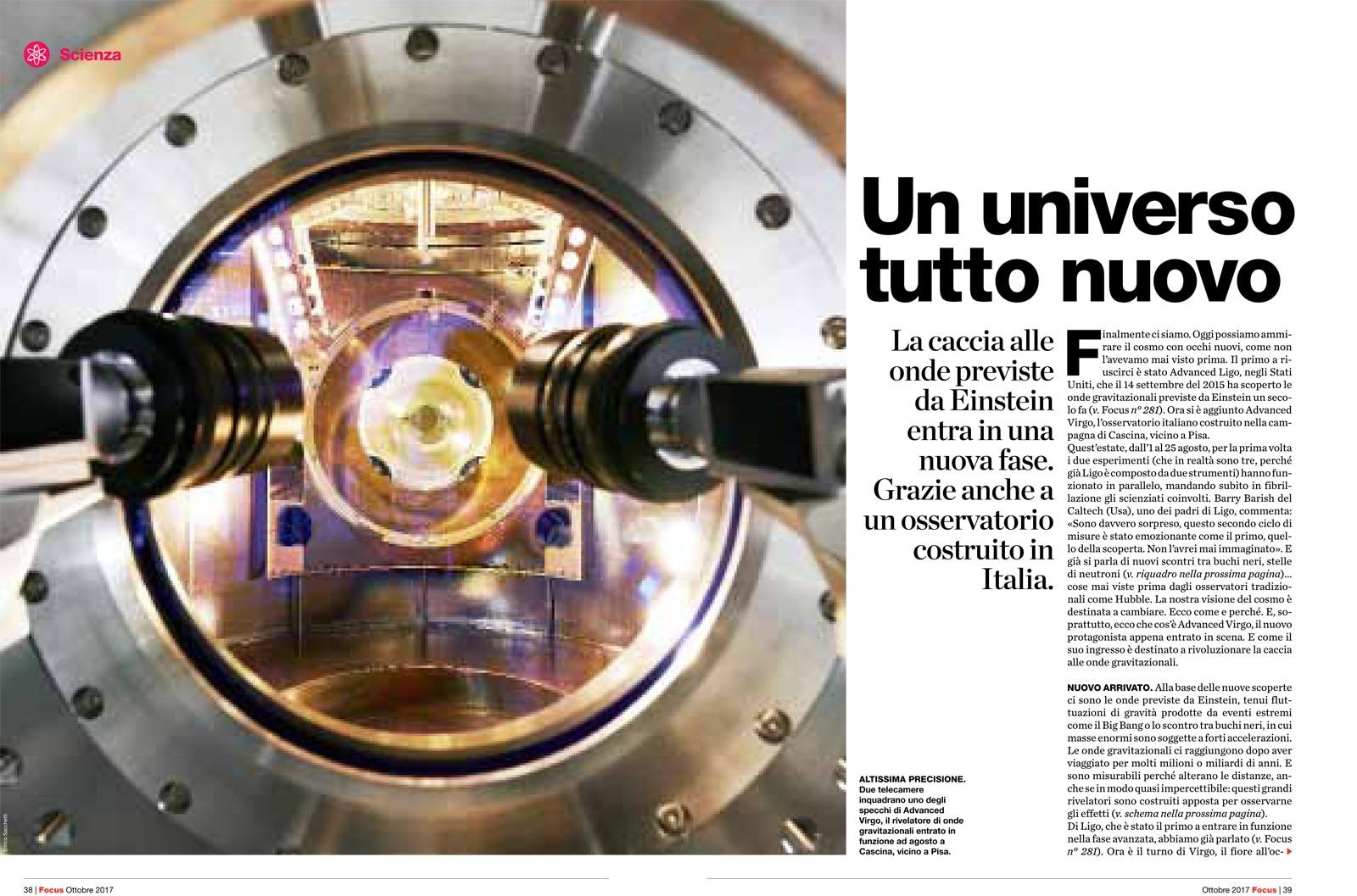Onde gravitazionali, l'annuncio dell'Infn al G7 Scienza di Torino