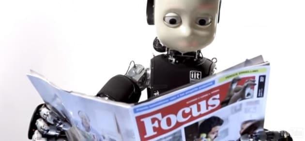 iCub: la consapevolezza del robot bambino
