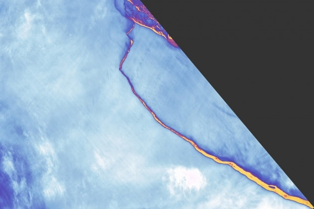 Il distacco dell'iceberg da Larsen C, spiegato bene