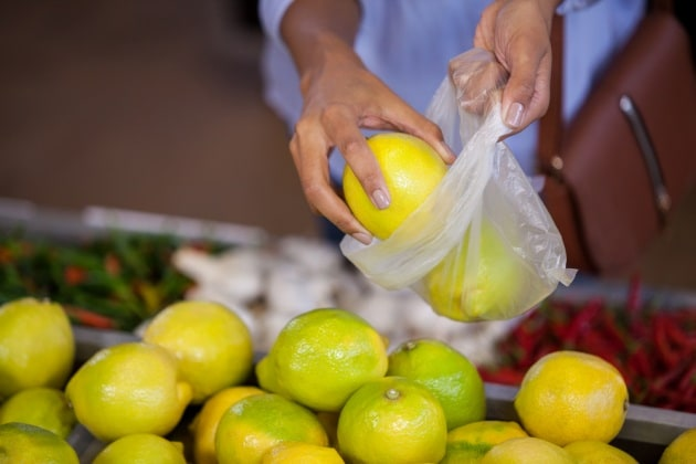 Sacchetti di plastica biodegradabile nei supermercati: quello che c'è da sapere