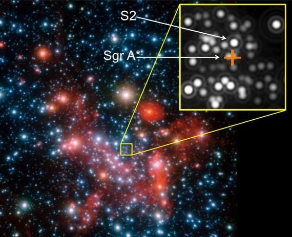 galassia, via lattea, buco nero, relatività generale, einstein