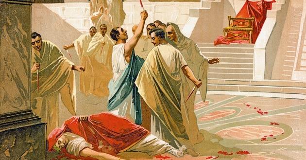 Cesare voleva morire?