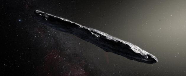 L'asteroide interestellare a forma di sigaro