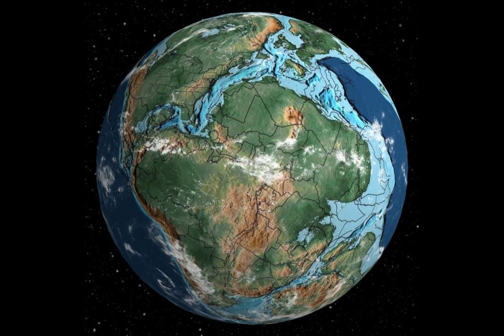 Cartina Italia 20000 Anni Fa.Dov Era Casa Tua 750 Milioni Di Anni Fa Focus It