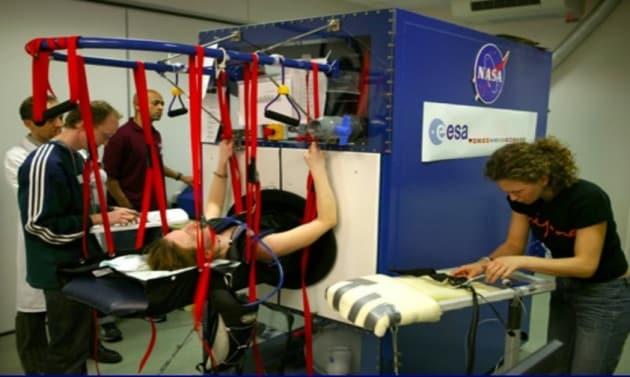 Come simulare la gravità in una nave spaziale