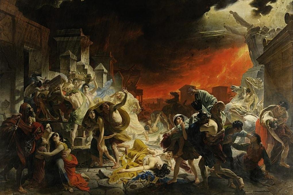 In quanto tempo è stata distrutta Pompei?