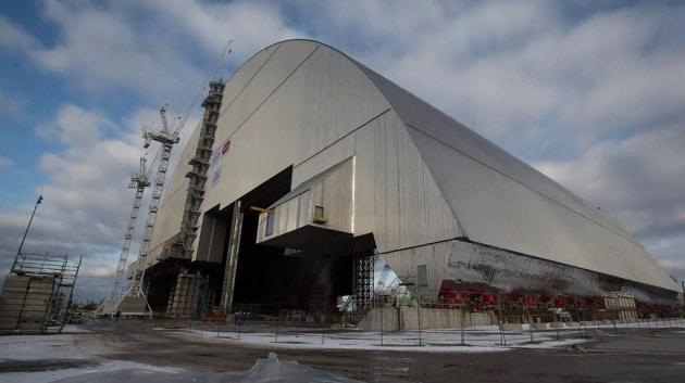 """Chernobyl: il timelapse dello spostamento del """"sarcofago"""""""