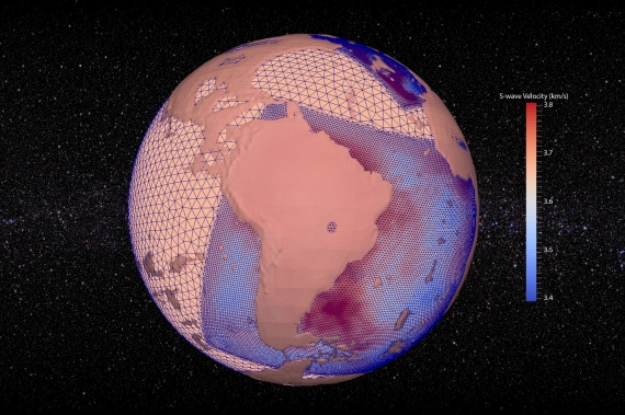 terremoti, onde sismiche, geofisica, acqua, mantello della Terra, struttura della Terra