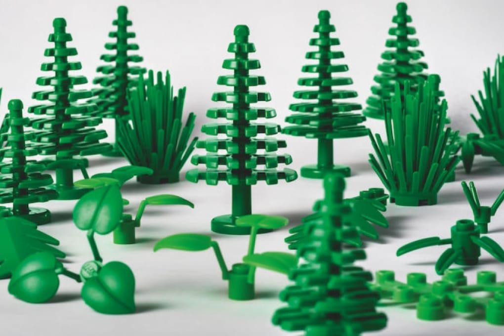 I mattoncini di Lego in bioplastica