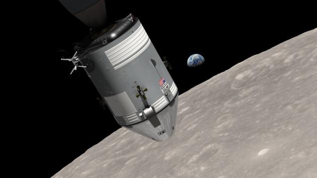 Forse nel 2018 una nuova missione con equipaggio in orbita lunare