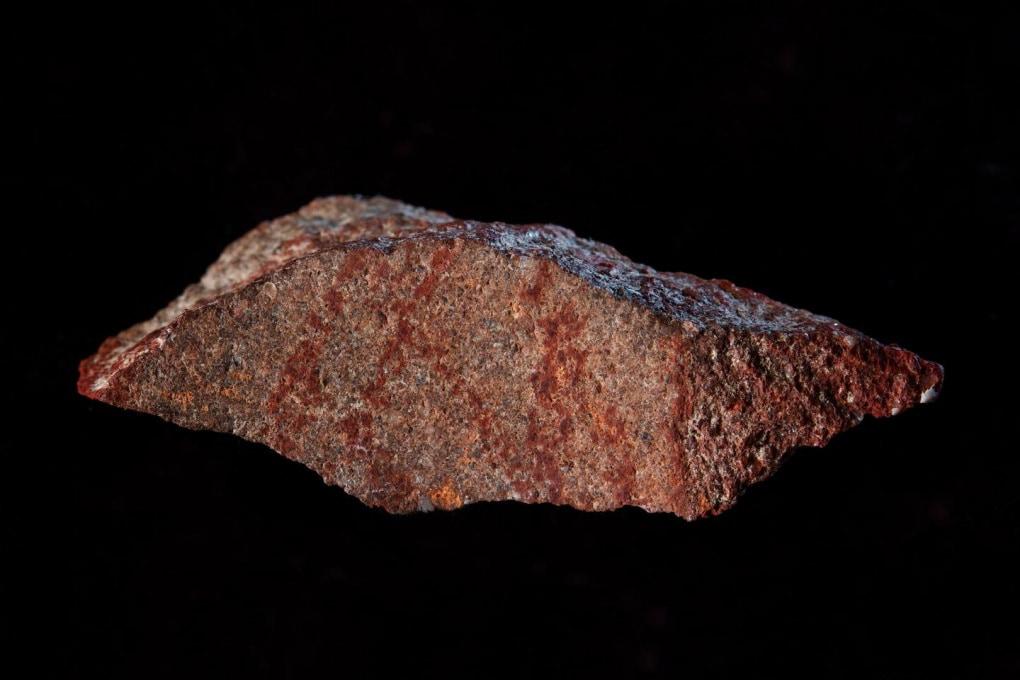 Il più antico disegno attribuibile all'Homo sapiens: ha 73 mila anni