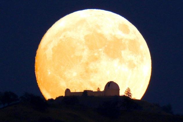 Super Luna, le foto più belle