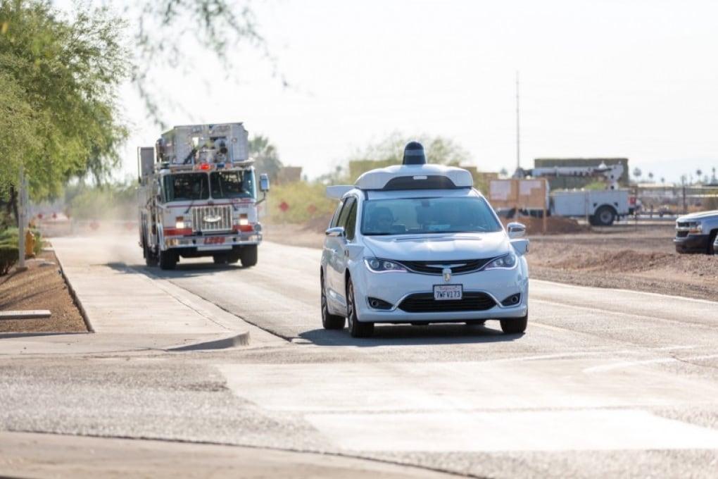 La Google car alla prova ambulanza