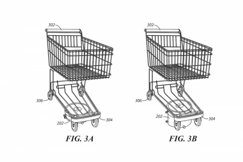 Walmart brevetta il carrello della spesa intelligente