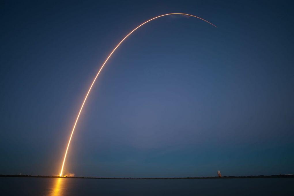 L'ultimo volo del Falcon 9 Block 4