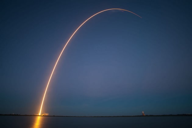 L'ultimo volo del Falcon 9 Block 4
