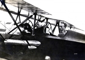 Gabriele D'Annunzio, il Vate, il volo su Vienna