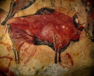 Pitture rupestri di Altamira, raffiguranti un bisonte.
