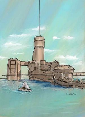 ascensore spaziale, Arthur C. Clarke, Le fontane del Paradiso