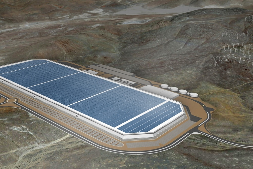 La Gigafactory di Tesla e il futuro dell'auto elettrica