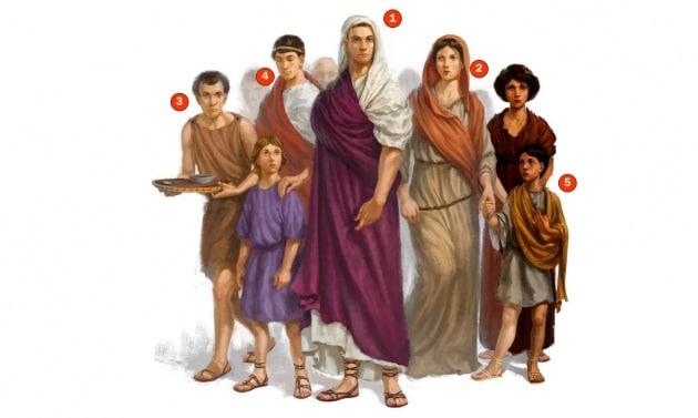Com era organizzata la famiglia nell antica roma focus