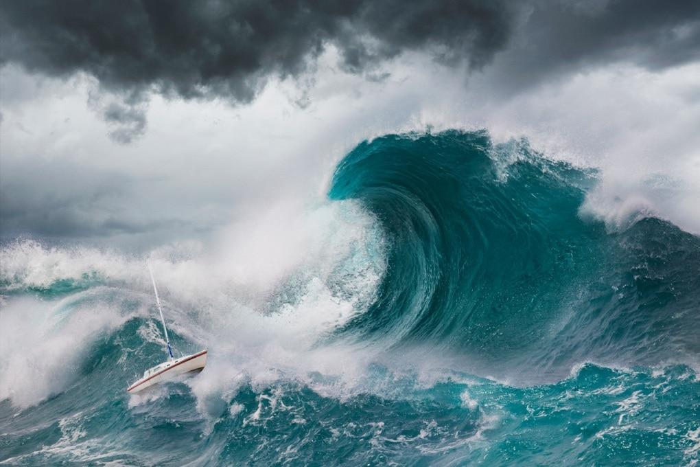 Le onde mostro non sono così rare come si ipotizzava