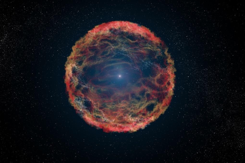 La supernova che produce antimateria