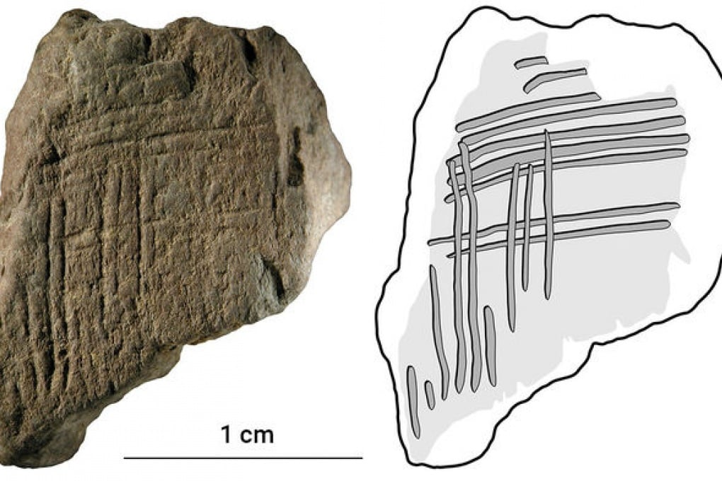L'hashtag di 100.000 anni fa è un segno casuale